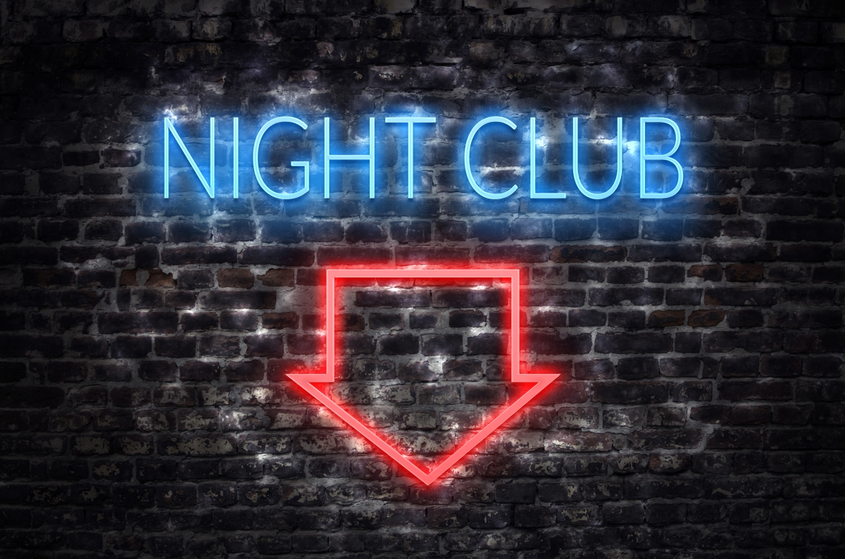 nightclub sign with insurance