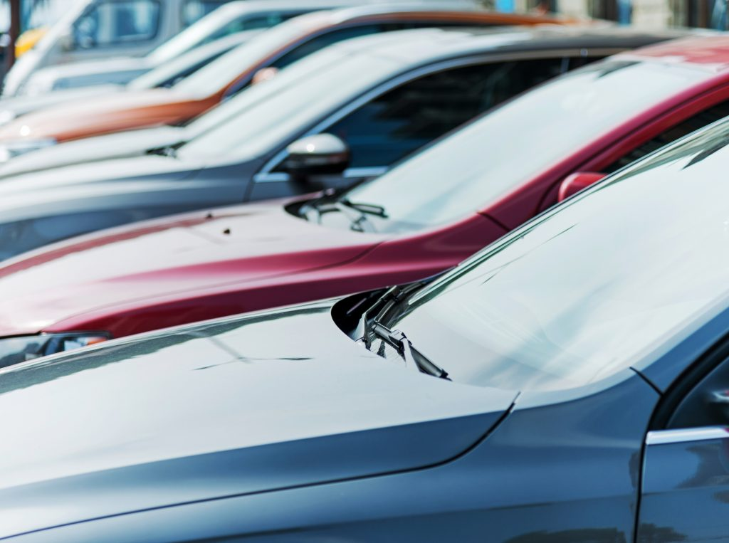fleet of cars with insurance